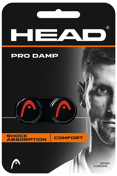 HEAD PRO DAMP 2 PCS PACK