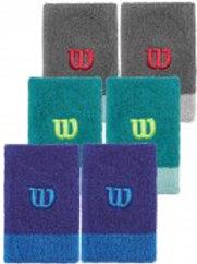 Wilson Frühjahr Schweißbänder 2er-Pack extra weit