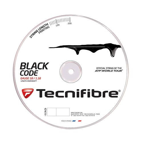 Tecnifibre BLACK CODE 200m Rolle
