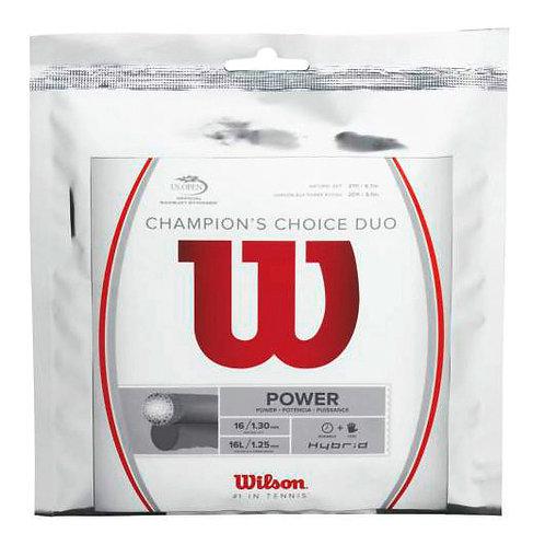 Wilson Champions Choice Duo