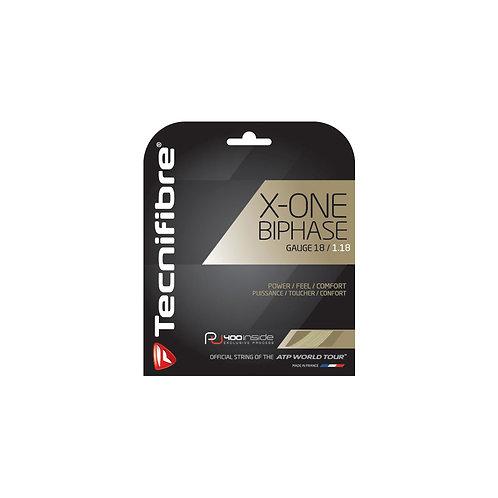 Tecnifibre X-ONE BIPHASE NATURAL 12m Set