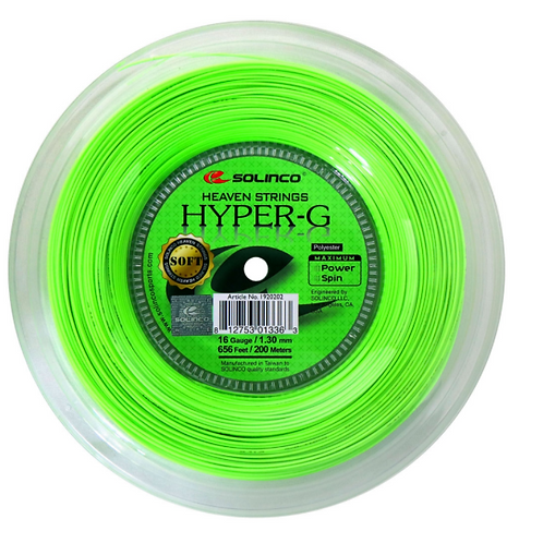 Solinco Hyper-G Soft 200m Rolle