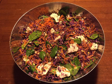 Salat til madpakken