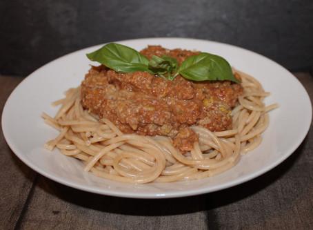 Spaghetti med plantesovs