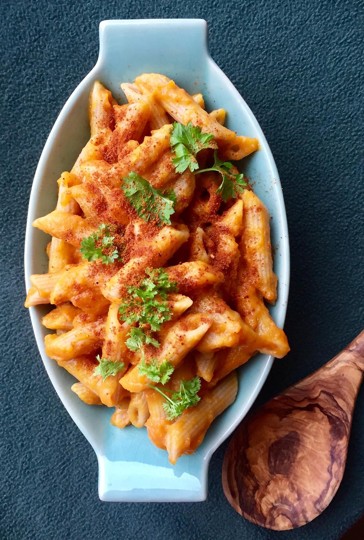 Plantebaseret mac'N'cheese
