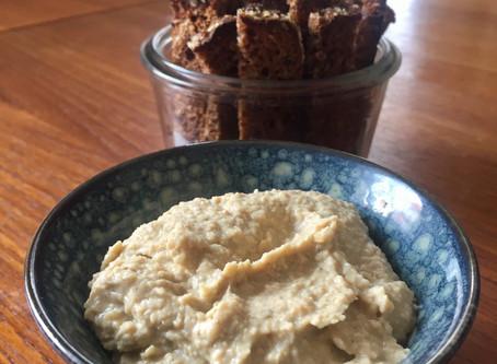 Traditionel humus uden olie og salt