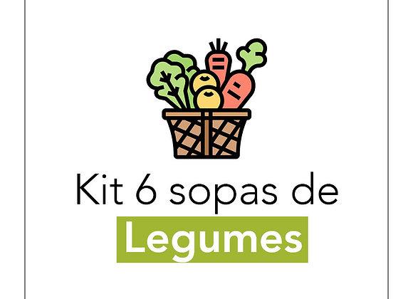 Kit Sopas de Legumes