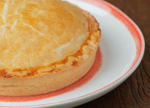 Torta frango - P (serve 3) G (serve 6)