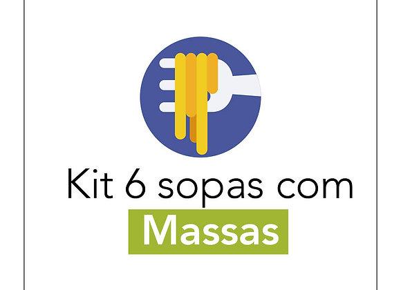 Kit 6 Sopas com Massas