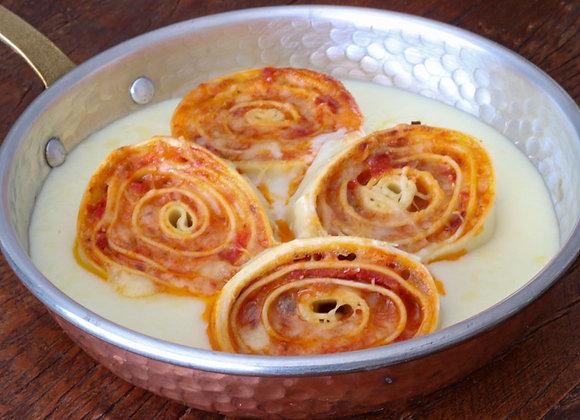Rondeli de tomate seco e mozarela - 500 g - Serve 2