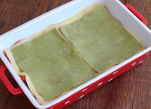Massa de lasanha espinafre - 500 g