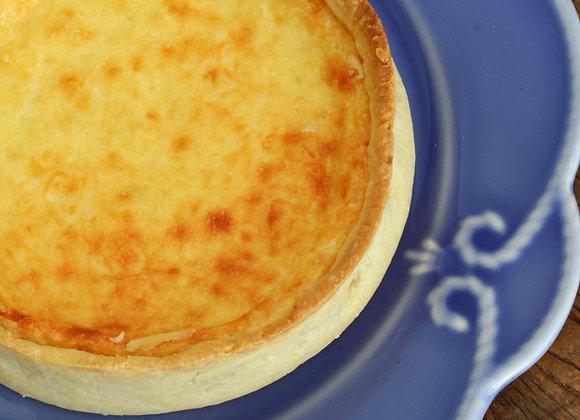 Quiche de queijos - P(serve 3) G (serve 6)