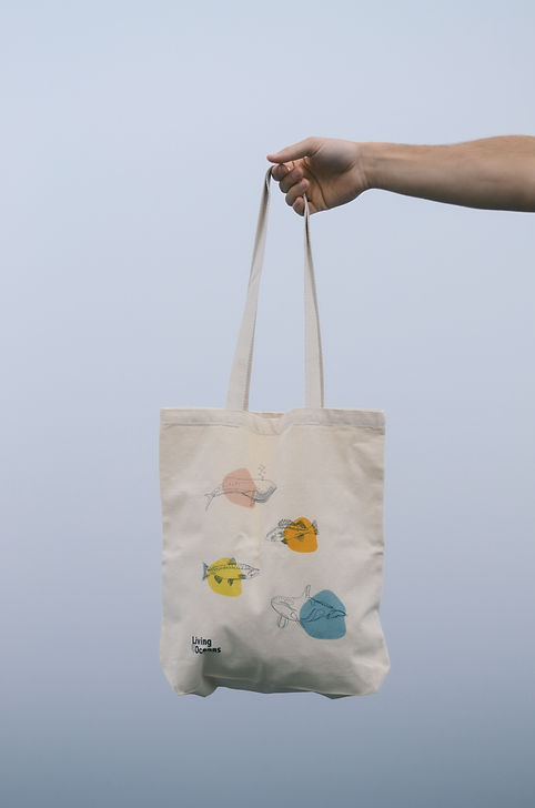 Living Oceans Tote Bag