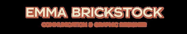 Emma Brickstock Landing Page