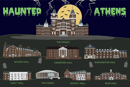 Haunted Athens Poster