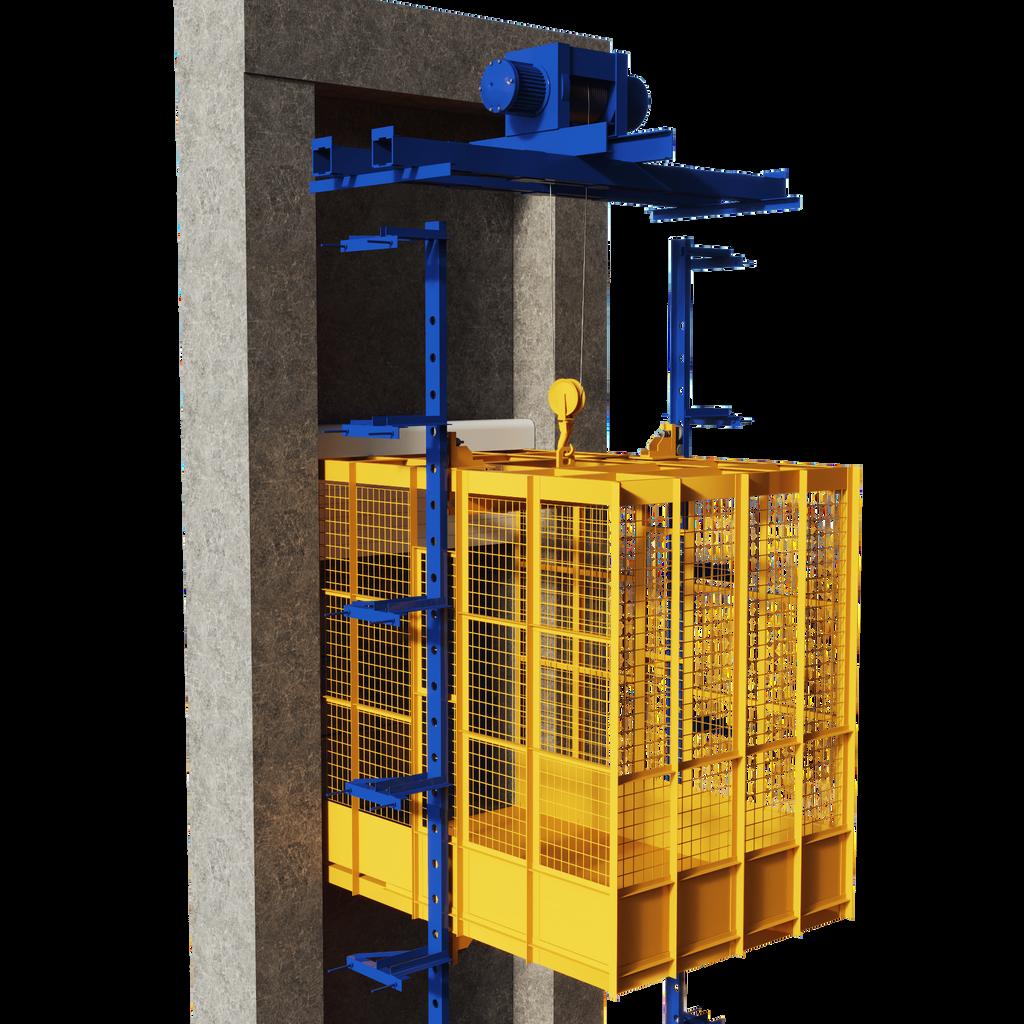 freight elevator 3D model