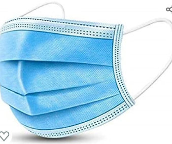 3-Ply Personal Protection Face Mask (50 pcs)