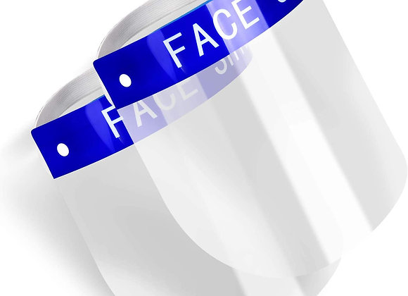 Safety Face Shield 2-Pack