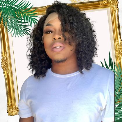 """Karen"" Carribean Curly Bob"