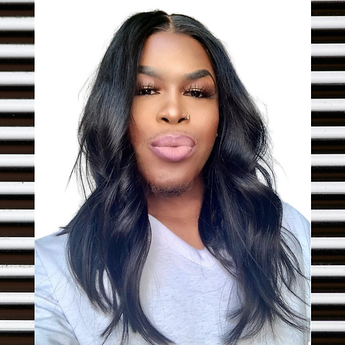 """""""Sarah"""" Middle Part 4x4 Lace Closure Wig"""