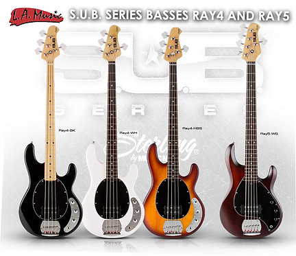 STERLING by MUSIC MAN - SUB RAY4 SERIES