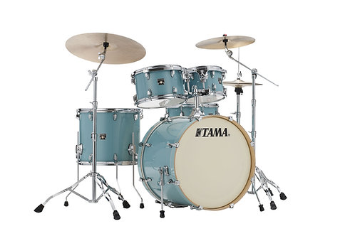 "TAMA SUPERSTAR CLASSIC STAGE 22"" LIGHT EMERALD BLUE GREEN"