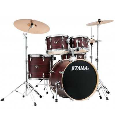 TAMA IMPERIALSTAR BURGUNDY WALNUT WRAP