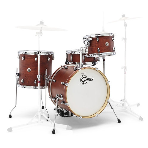 "GRETSCH DRUMS CT1-J484-SWG - CATALINA CLUB 2014 JAZZ 18"" - SATIN WALNUT GLAZE"