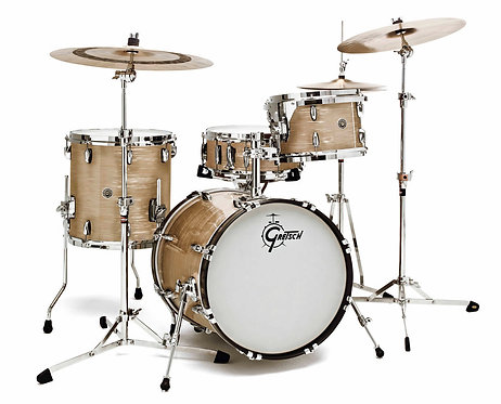 "GRETSCH DRUMS GB-J483-CO - BROOKLYN 12"" X 8"" TT 14"" X 14"" FT 18"" X 14"" BD CREAM"