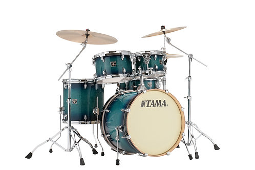 TAMA SUPERSTAR CLASSIC 20/10/12/14/14 BLUE LACQUER BURST - CL50RS-BAB