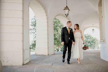 Hochzeit auf dem Schloss Solitude in Stu