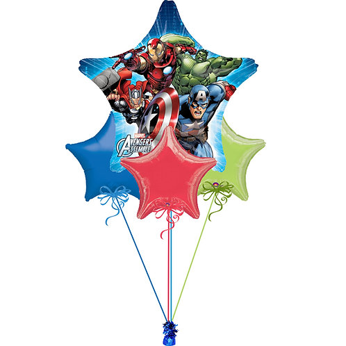Marvel Avengers Balloon Bunch