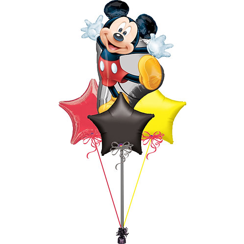 Mickey Mouse Balloon Bunch