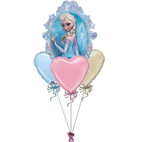 Frozen Balloon Bunch