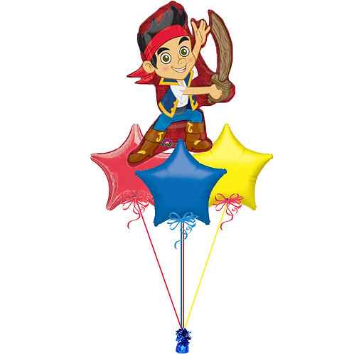 Jake the Pirate Balloon Bunch