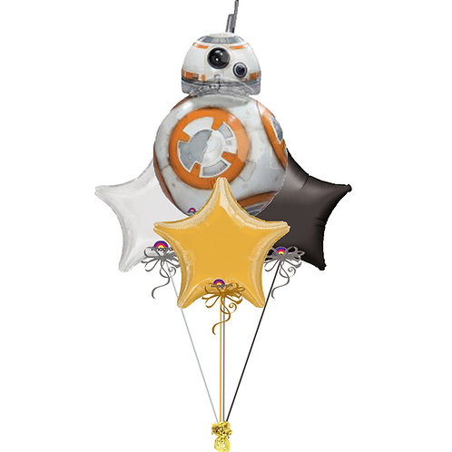 Star Wars BB8 Vader Balloon Bunch