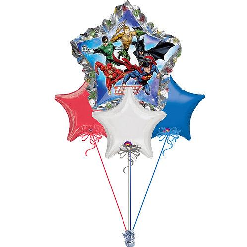 Justice League Balloon Bunch