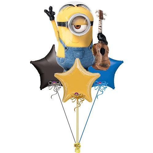 Minion Stuart Balloon Bunch