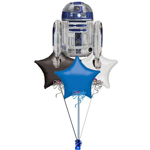 Star Wars R2-D2 Balloon Bunch