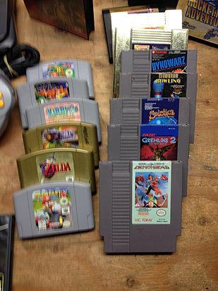 NES Lot