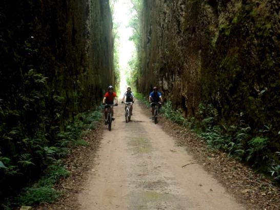 ANTIGO RAMAL FERROVIÁRIO - Bike