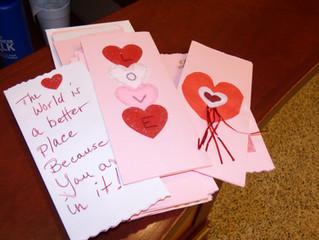Seabury Delivers Valentines!