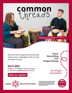 Common Threads Workshop - March 4th
