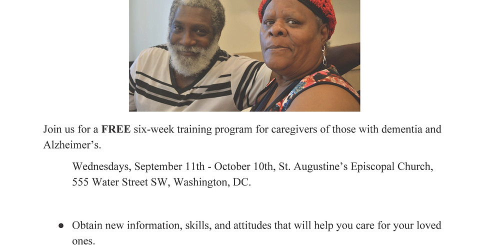 Ward 6 Caregivers Training Program