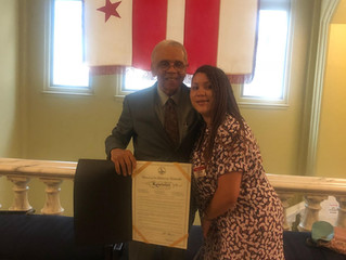 DC Honors Friendship Terrace Resident!