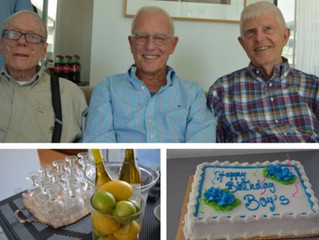 3 Friends Celebrate 240 Year Birthday Brunch