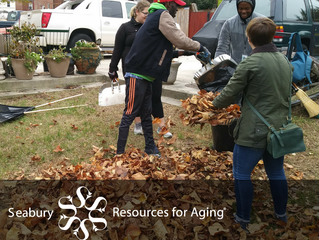 Leaves crunch, lives change--all because of you! #GivingTuesday