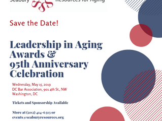 Save The Date: Leadership In Aging Awards & 95th Anniversary Celebration