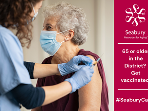 COVID-19 Vaccinations Available for DC Residents Aged 65 and Older