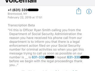 It isn't an Emergency; It is a Scam!